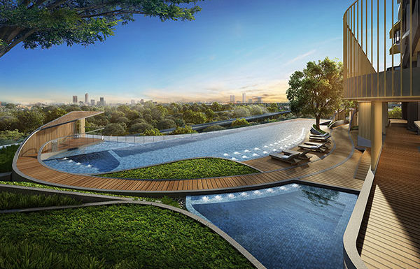 The-Line-Jatujak-Mochit-Bangkok-condo-for-sale-Swimming-pool-with-kid's-pool